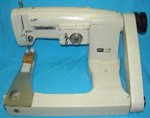 Consew, 347R-2AUF, Double Stitch, ,  Feed Off The Arm, Cylinder Bed, Upper Feed Walking Foot, Industrial Sewing Machine, to 3000SPM, 10mm Zigzag,  & Power Stand