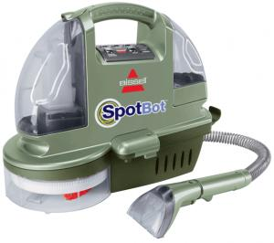 Bissell 1200B SpotBot Hands-Free Deep Clean Carpet Cleaner/ Extractor with Preprogrammed Cycle for surface or set-in stains
