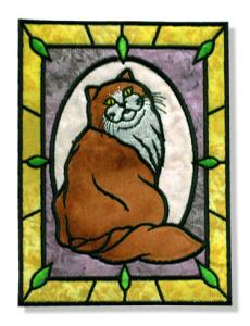 Dalco Cats N' Stained Glass Applique Designs Multi-Formatted CD