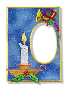 "Dalco Stitch ""N Frame Christmas Applique Designs Multi-Formatted CD"