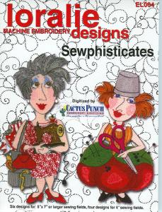 Loralie Sewphisticates 630329 Embroidery Designs on Multi-Formatted CD