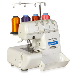 Reliable Dream Stitcher 600SO Overlock Serger, Open Front, Easy Threading, Replaces DreamStitcher 787 -Factory Servicednohtin Sale $229.99 SKU: Reliable600SORB :