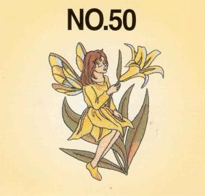 Brother No.50 Fairy and Floral Embroidery Card SA350