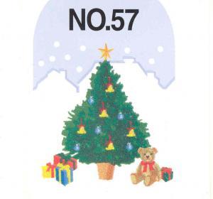 Brother SA357 No.57 Christmas Card Brother ULT 2001 2002D 2003D, Babylock Ellageo BLV-ESG