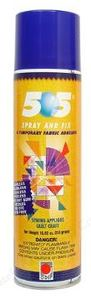 10310: OESD ORMD-13A 505 Spray and Fix Temporary Fabric Adhesive Stabilizer 11oz Can