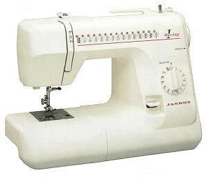 Janome, 659RB, One Dial, 15 Stitch, Freearm, Mechanical, Sewing Machine, 1-Step, Buttonhole, Top Loading, Jam-Proof, Drop in Bobbin, Metal Rotary Hook, - REFURB