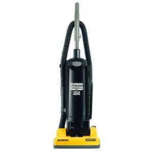Eureka C5712A Commercial Upright HEPA Vacuum Cleaner, 10 Amps, UL Listed, Dirt Finding Headlight, 40' Power Cord and 12