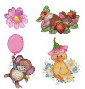 OESD GC206S-ID3 Design Cutes Embroidery Designs Multi-Formatted CD