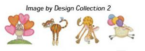 GC202A-ID2 Image By Design Collection 3 Cutes Embroidery Designs Multi Format CD