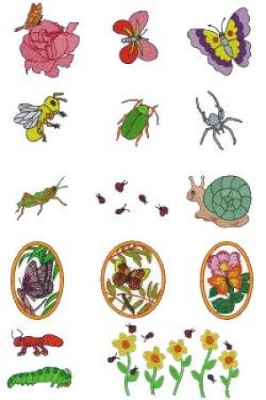 Down Home Dreams 150 What's Bugging You Embroidery Disk