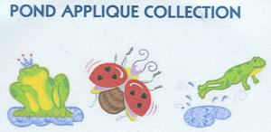 Smartneedle Pond Applique Collection 5X7 Embroidery Designs Multi-Formatted CD