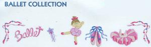 Smartneedle Ballet Collection 4x4 Embroidery Designs Multi-Formatted CD