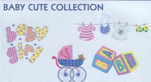 Smartneedle Baby Cute Collection 4X4 Embroidery Designs Multi-Formatted CD