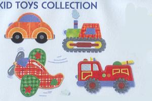 Smartneedle Kid Toys 4X4 Embroidery Designs Multi-Formatted CD