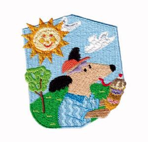 Amazing Designs ADC 9 Dog Days Of Summer I Embroidery Multi-Format CD