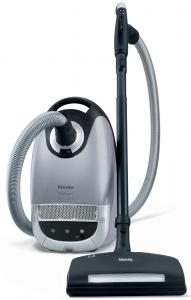 Miele S5980 CAPRICORN Luna Silver HEPA Canister Vacuum Cleaner 1200W Parquet & Electric Floor Brush (SEB 236) Telescopic Wand - 7Yr Motor 1Yr Parts