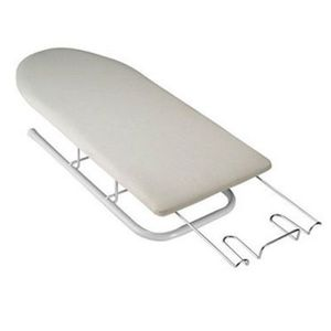 "Polder 1232-82 Deluxe Table Top Ironing Board 32x12"" Fold Legs, Hot Iron Rest, Cotton Cover and Pad #POL109"
