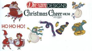OESD PC830B Christmas Cheer With Ingrid Embroidery  Designs Brother Card