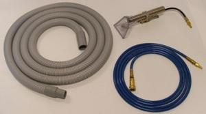 Thermax 32-502-000 CP3 & CP5 Automobile Car Detail Package - 3 Pieces: Upholstery Hand Wand, 15' Industrial Vacuum Hose, 15' Solution Hose