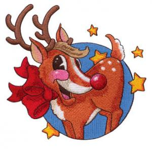 Amazing Designs  ADC-28J Reindeer 1 Jumbo Multi-Formatted CD