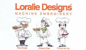 Loralie Designs 630442 Fun Chefs Embroidery Designs Multi-Formatted CD