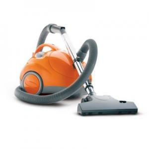 Hoover S1361 Lightweight Canister Bagged Vacuum Cleaner, Variable Speed Motor, Floor & Carpet Nozzle, 360°Swivel, TelescopeWand 17'Cord Tools LgWheels