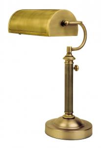 Verilux VD05BA1 Antiqued Brass Princeton Desk Lamp