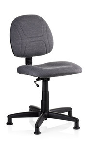 "Reliable, 100SE, SewErgo, Ergonomic, Sewing, Operator, Chair, Height Adjustment,  for Home and Industrial Sewing Machines (with Power Stands) - Made in Canada, Reliable SewErgo Operators Non Roll Swivel Chair, 16-21"" Adj Height, Lumbar Support, 5 Floor Glides, for Sewing  Knitting Machine Stand Table Cabinet"