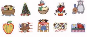 Dakota Collectibles 970070 Sewing Big 5 Appliques Home Format Multi-Formatted CD