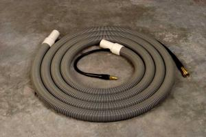 Thermax 15-HAH-5 15' Gray Hide-A-Hose for Thermax CP5 Extractor Cleaning System