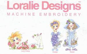 Loralie Designs 630711 Garden Party 1 Embroidery Designs Multi-Formatted CD