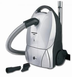 Koblenz KC-1500S Maxima Canister Vacuum Cleaner & Air Blower KC1500S, 10 AMP, 1300 Watts, 18' Cord Rewind, Full Bag Indicator, Tools, Silver Color