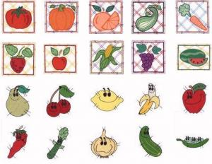 Dakota Collectibles 970087 Fruits and Veggies Home Format Multi-Formatted CD