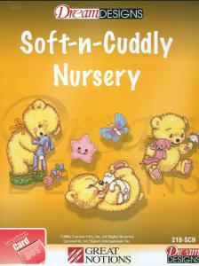 OESD 218-SCN Soft-n-Cuddly Nursery Embroidery Card