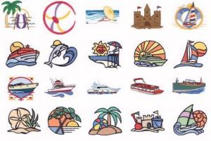 Dakota Collectibles 970090 Beaches and Boats Home Format Multi-Formatted CD