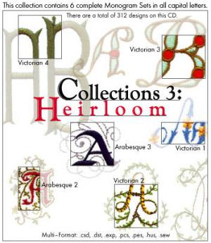 Embroideryarts 01X03 Collections 3 Heirloom Embroidery CD