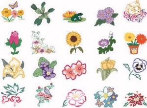 Dakota Collectibles 970095 Flower Power Home Format Multi-Formatted CD