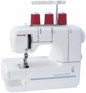 Janome 900CP CoverPro 2-Needle 1/4