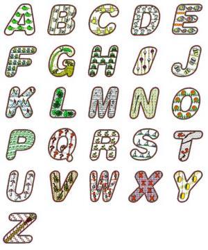 Embroideryarts 02467 Alphabet Embroidery Floppy Disk