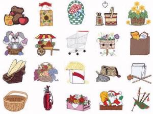 Dakota Collectibles 970100 Baskets and Bags Home Format Multi-Formatted CD