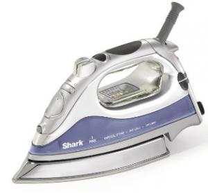 Euro Pro Shark GI468 Rapido Professional Lightweight Electronic Steam Iron, Stainless Steel Soleplate, 1500W 10'Cord, AntiDrip&amp;Calc AutoOff, SelfClean