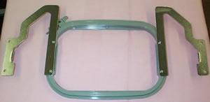 "Multi Task 5x7"" Purse Bag Hoop Frame #3 for Brother PR600-PR1000 Babylock"