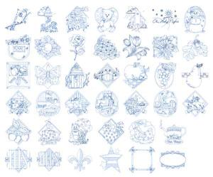 Dakota Collectibles 970155 Bluework Traditions Home Format CD