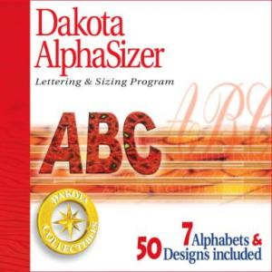 Dakota Collectibles AlphaSizer with 7 New Fonts Included