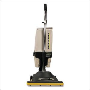 "Koblenz U-610-DCN Metal Commercial Bagless Upright Vacuum Cleaner 16""W"