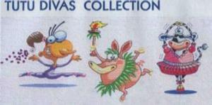 Smartneedle Tutu Diva Applique Collection 5X7 Embroidery Designs