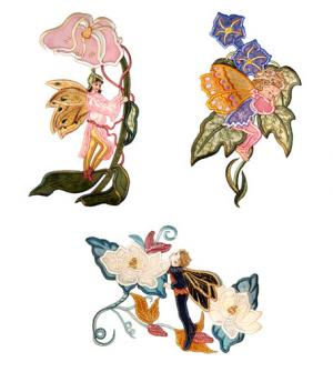 Dalco 3D Fairies Collection Applique Designs