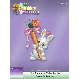Great Notions Inspiration Collection 111933 Morehead Collection Bountiful Bunnies Designs CD