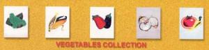 Dalco Vegetable Collection Applique Designs