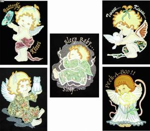 Dalco Baby Angels Collection Applique Designs